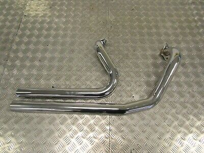 Harley Twin Cam Headers Downpipes Exhausts • 79£