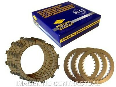 Kit Discs FCC Full Hm Cre-F 450 Moto Engine Spare Parts Moped Accessories • 154.71£