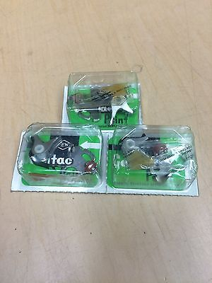 KAWASAKI H1 H1A H1B KH500 500cc TRIPLES SET OF 3 CONTACT POINTS Made In Japan • 21£