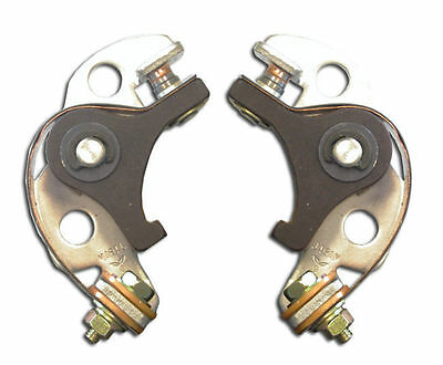 Pair Of Contact Points To Suit Honda Gl1000 Cb450 Cl450 Cb500 • 16£