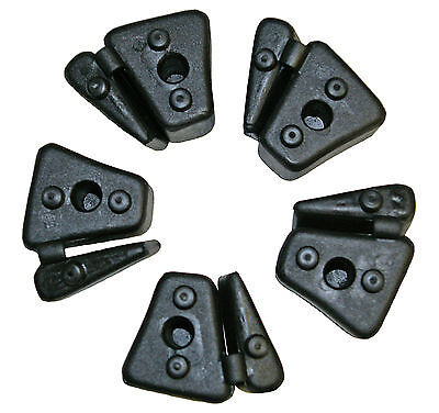 Honda CBR600F-2/3/4 Rear Wheel Sprocket Cush Drive Rubbers (1991-2000) Set 5 • 16.25£