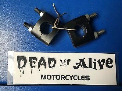 Mutt 125,  Handlebar Mounting Clamps (pair) • 15£