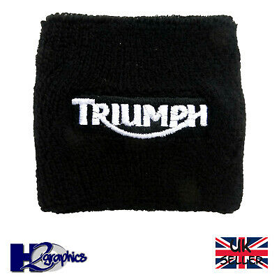 New Triumph Motorcycle Front Brake Reservoir Sock Cover UK Seller Fast Shipping • 5.75£