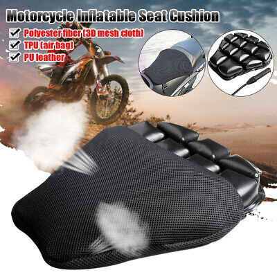 Motorcycle Motorbike 3D Seat Air Cushion Pad Cover Comfortable Pressure Relief • 21.59£