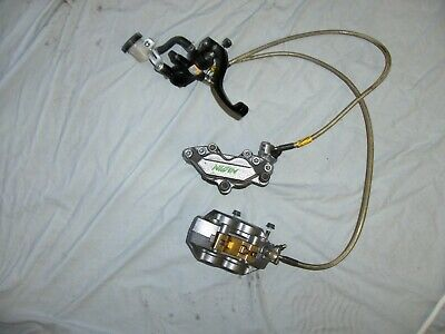 Honda Cbr600 F4 Front Brake Complete Calipers And Master Cylinder • 120£