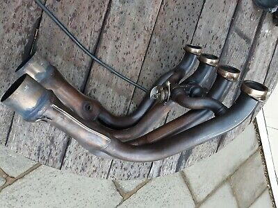BMW S1000RR Exhaust Header Down Pipes Shortend 10-14 • 120£