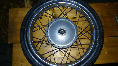 Honda Front Wheel With Drum Brake And Armature Plate For CB250K0 • 299.18£