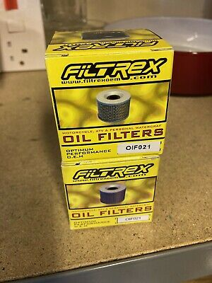 Filtrex Oil Filter X 2 OIF021 • 6£