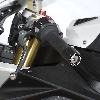 R&G RACING BAR END SLIDERS  For BMW S1000 RR 2010 BOLTS INCLUDED  • 28.97£