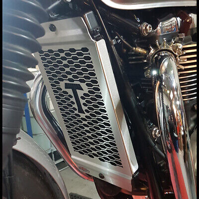 Triumph Speed Twin (16-20) Radiator Guard Brushed Finish By Beowulf T031 • 66£