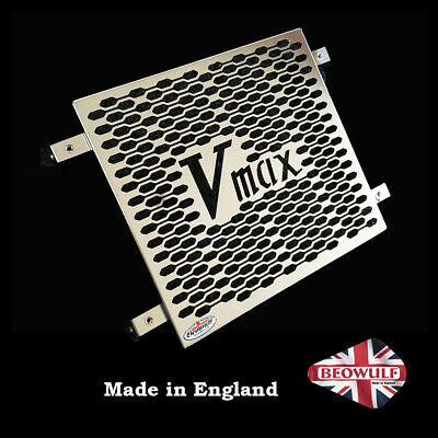 Yamaha V Max (83-07) Polished Stainless Steel Radiator Guard By Beowulf Y009 • 70£