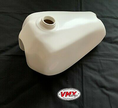Yamaha Yz250 1980 1981 White Gas Fuel Tank New 80 81 Yz 465 Ahrma Vmx IN STOCK • 195.20£