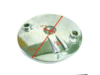 6  Inches Front Brake Shoe Hub Plate Cover For Royal Enfield Bullet Old Mode (K) • 16£