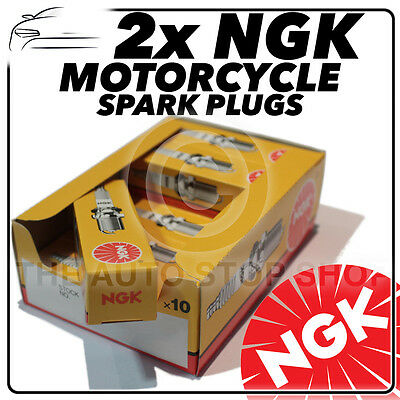 2x NGK Spark Plugs For SUZUKI 125cc VL125 Y, K1-K5 Intruder 99->08 No.1275 • 12.77£