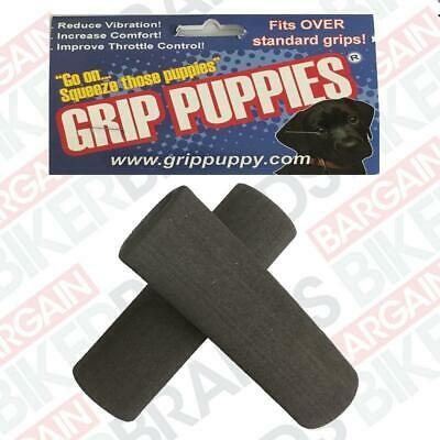 Grip Puppies - Reduce Vibration & Increase Comfort - Fits Std Motorcycle Grips • 13.98£