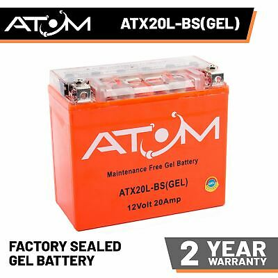 YTX20L-BS Atom Gel Motorcycle Battery 12V 20Ah - Replaces YTX20L-BS • 45.99£