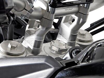 SW Motech 20mm Handlebar Risers For Triumph Tiger 900 / GT / Rally / Pro 2020 • 44£