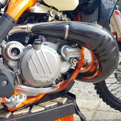 Extreme Carbon Exhaust Protector Ktm 250-300 2017-'19 • 119.99£