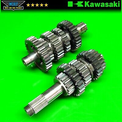 1988 Kawasaki Kx500 Transmission Trans Tranny Gear Set Main Counter Shaft • 441.97£