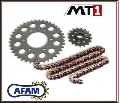 Set Transmission Afam Chain Sprocket Honda 750 Rvf R 94 - 96/1994 -1996 • 108.65£