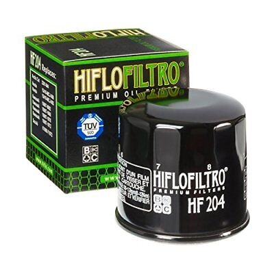 Hiflofiltro HF-204 Performance Motocycle Oil Filter Cannister Black • 6.99£