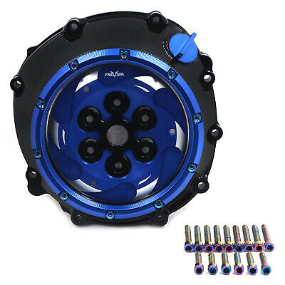 Blue Clutch Cover Pressure Plate Spring Retainer For BMW 09-17 S1000RR/14-17 S10 • 374.36£