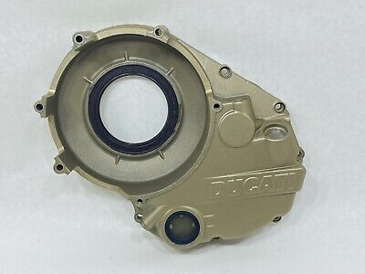 Ducati Magnesium GOLD Vented Dry Clutch Housing Engine Motor Right Side Cover   • 161.98£