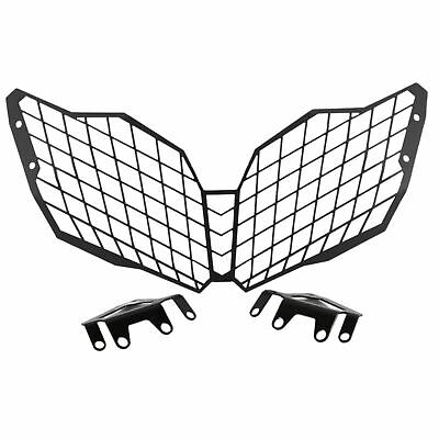 Aluminium Headlight Grill Protector Guard For Suzuki DL 650 V-Strom 12-16 • 49.90£