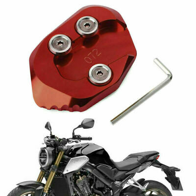 Side Stand Extension Kickstand Enlarger Plate Fits HONDA CB1000R 2018-2019 Rd UK • 14.39£