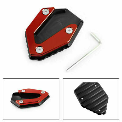 Side Stand Kickstand Enlarger Plate Fits YAMAHA MT 07 FZ 07 TRACER 700 14-19 RD • 16.79£