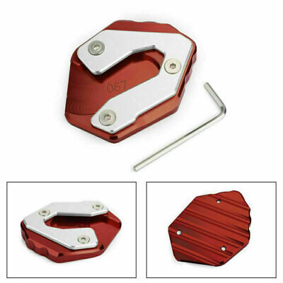 Side Stand Kickstand Extension Plate Fits Yamaha FZ-09 14-18 MT-09 Tracer 15+ RD • 16.79£