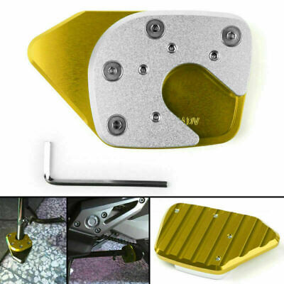 Kickstand Side Plate Stand Extension Pad Fits Honda X-ADV750 2017-2018 Gold UK • 14.39£