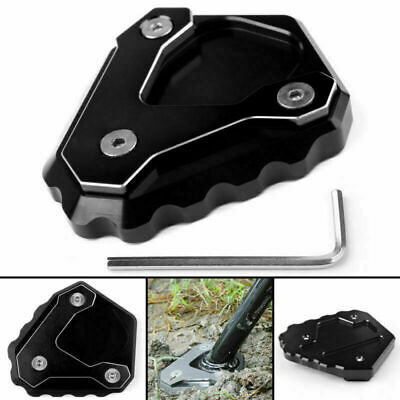 Kickstand Side Stand Enlarge Extension Plate Fits BMW G310 G 310 GS 2018 Black/ • 16.79£