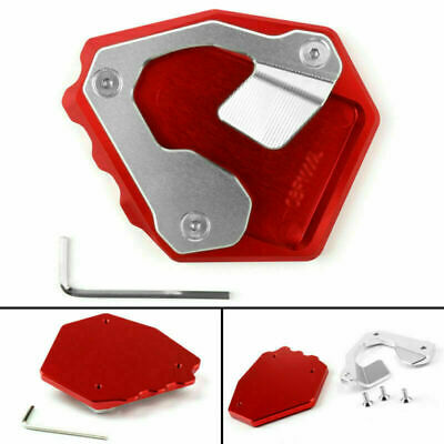 Side Pad Kickstand Stand Extension Plate Fits Honda CRF1000L Africa Twin 17 RD/ • 15.59£