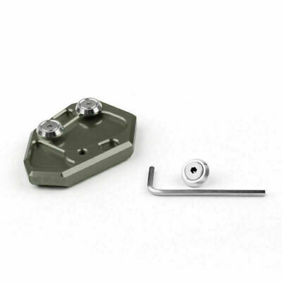 Side Stand Kickstand Plate Pad Fit For BMW S1000RR 2009-2014 Gray UK • 14.39£