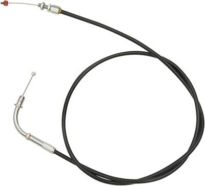 Barnett Stainless Steel Throttle Cable Standard Black 101-85-30003 • 42.06£