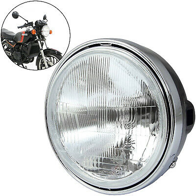 Motorcycle 7 Inch Round Halogen Headlight 12V60/55W H4 • 27.99£
