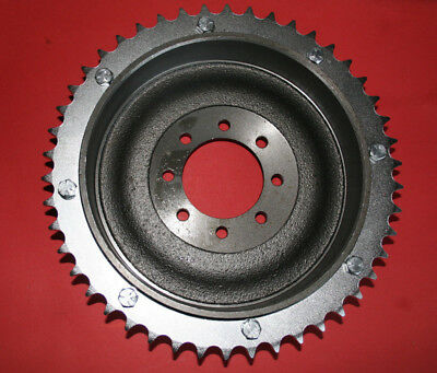 Triumph 5t 6t T100 T120 T150 Brake Drum And Sprocket Bolt On  37-0311 37-0056 • 72.99£