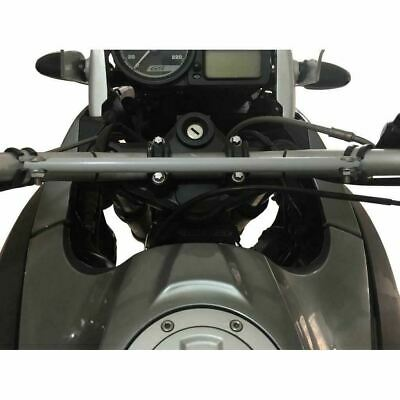 BMW F 800 GS Crossbar Brace Bracket Handlebar Sat Nav Gps Holder 2008-17 • 34.90£