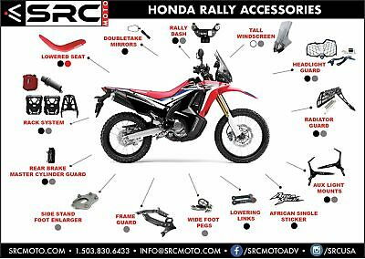 Lowering Links By SRC MOTO For HONDA CRF 250L/300L & Rally • 108.25£