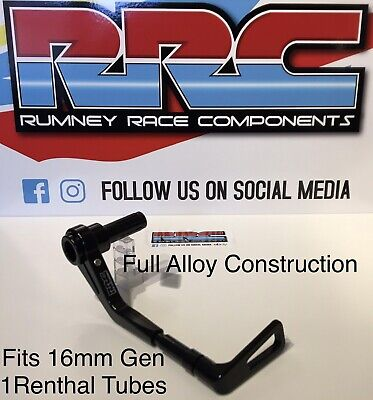 RRC Universal Brake/clutch Lever Guard(drop Down)Solid Alloy.14mm-17mm.ACU,BSB🏍 • 24.99£