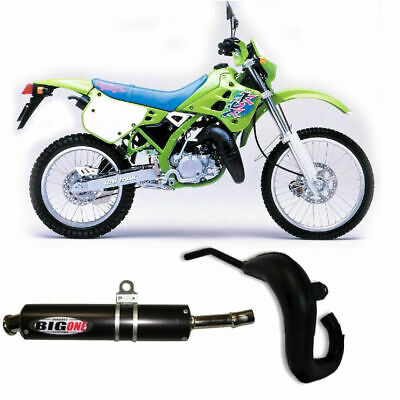 Kawasaki KDX 125 Big One Performance Exhaust Front Expansion Pipe & Silencer • 169.99£