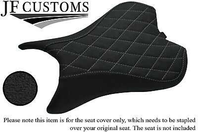 Dsg2 Grip Grey St Custom For Triumph Street Triple Rs 765 17-20 Front Seat Cover • 84.99£