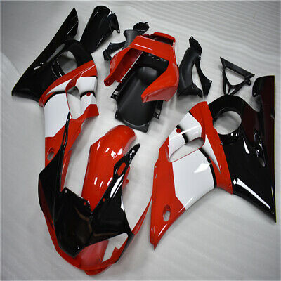 Brand New Injection Mould Red Black Fairing Fit For Yamaha YZF R6 1998-2002 BID • 249£