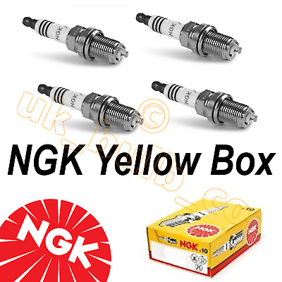 NGK Spark Plugs To Fit Suzuki GSXR1100 GSXR 1986-1993 JR9B X 4 (3188 X 4 Plugs) • 16.95£