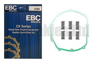 Fits: Kawasaki ZXR750 H1 / H2 1989-1990 EBC Clutch Plates, Springs Cover Gasket • 59.74£