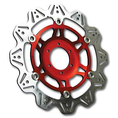 EBC Front Red Vee Rotor Brake Disc For Triumph 2011 Sprint GT (1050) • 140£