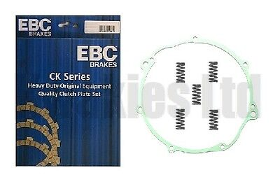 Fits: Yamaha XT660Z Tenere 08-12 EBC Clutch Plates Springs Cover Gasket • 69.50£