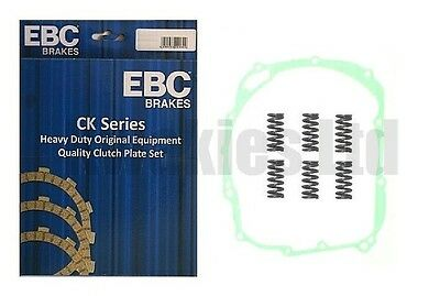 Fits: Yamaha FZR1000 Genesis 1987-1988 EBC Clutch Plates, Springs & Cover Gasket • 73.88£