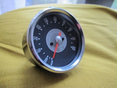 Quality TACHOMETER In Black Casing Grey Face 3:1 Ratio Tacho Classic Motorcycle • 74.99£